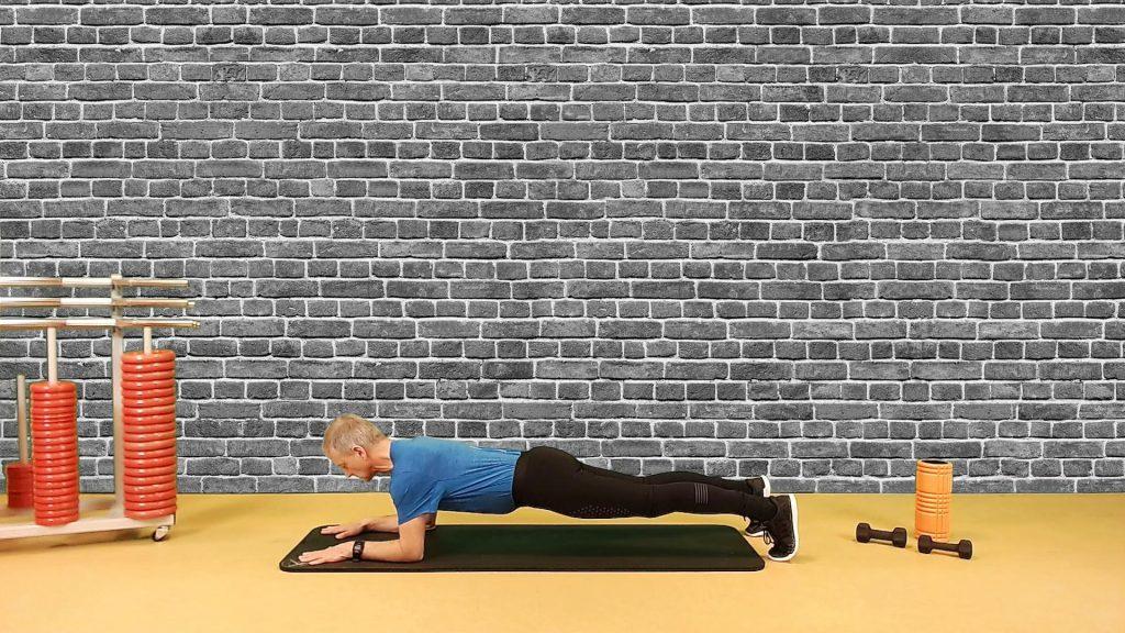 Sideplank mit Rotation